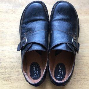 BOC black loafers